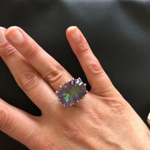 Jewelry - Multicolored ring semi precious gem